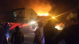 Vredehoek Fire Cape Town Monday 16 February 2015