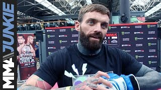 Bellator London: Aaron Chalmers pre-fight interview