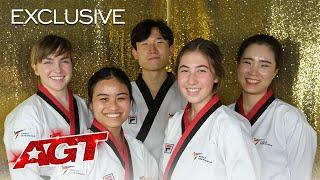 World Taekwondo Demonstration Team Opens up About The Golden Buzzer - America's Got Talent 2021