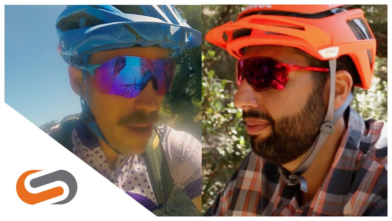 Oakley PRIZM Trail vs. PRIZM Road   SportRx - YouTube 8f0acb87b6b3