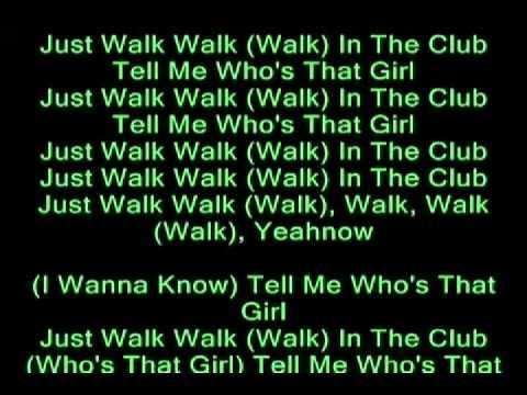 Whos that girl-karaoke by Guy Sebastian