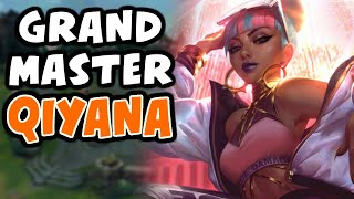 Qiyana Mid Commentary in Grandmaster | 10.19 - League of Legends