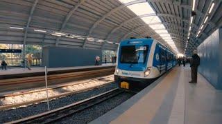 Viajando en el nuevo viaducto mitre ramal Tigre 🚊: Recorrido Retiro - Belgrano C | Argentina 4k