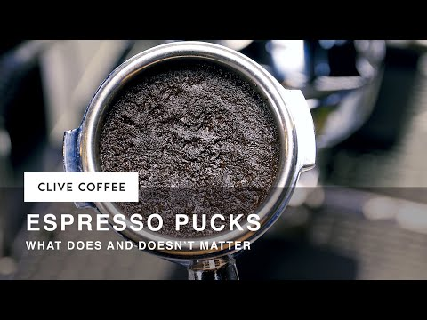 Espresso Pucks: What Matters & What Doesn't