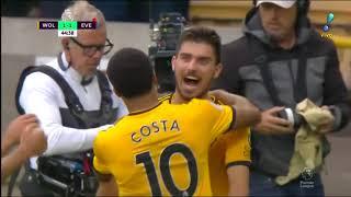 Wolves 2 x 2 Everton - Melhores Momentos (Inglês 2018)
