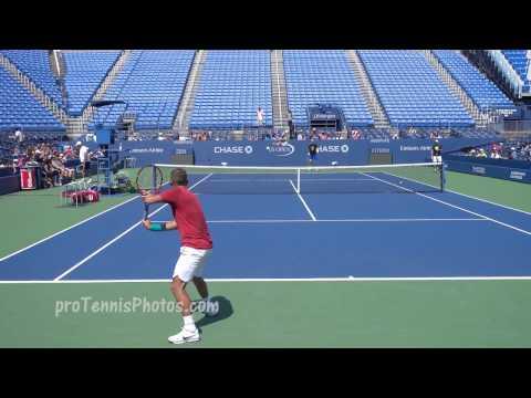 Murray V Evans, 2016 US Open Practice 4K