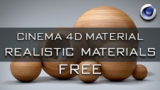 Cinema 4D Material Pack Free Download | Cinema 4D Realistic Material Download