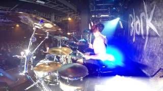 Boris Balogh from Black Inhale - Never Rest (Live Drum Cam)