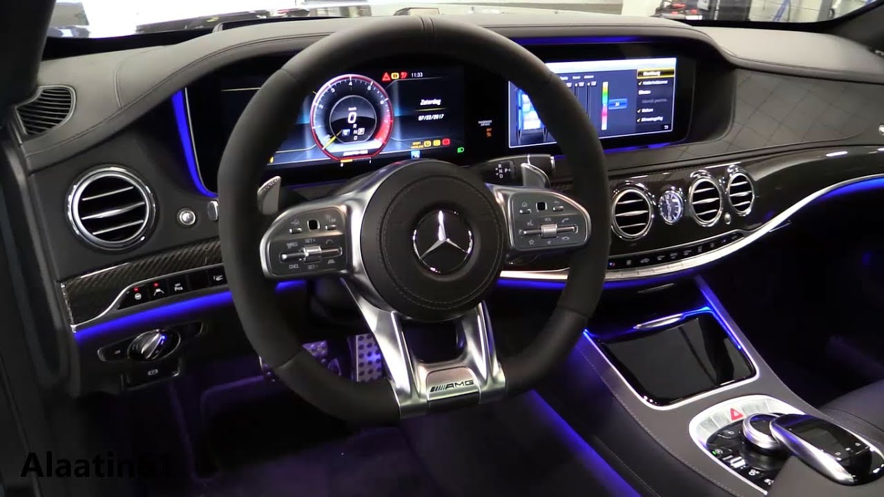 inside the new mercedes s class amg 2018 review interior exterior youtube. Black Bedroom Furniture Sets. Home Design Ideas
