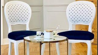 The Ralph Lauren Designers Guild Chairs by Dusek Design Studio