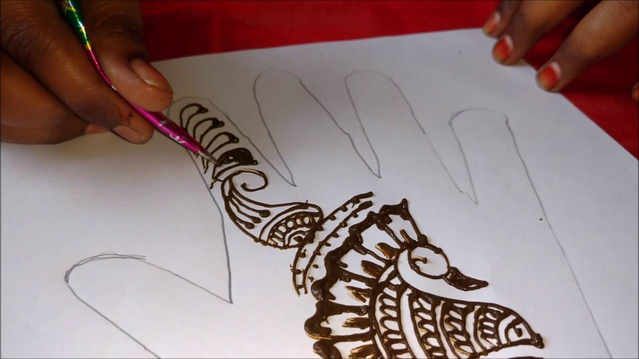 Mehndi Mehndi Ke Design : Simple and easy henna hand designs mehndi lagane ka tarika