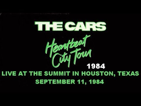 The Cars LIVE In Houston, Texas 1984 (BEST PICTURE/REMASTERED SOUND)