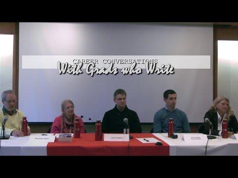 Career Conversations: Grads Who Write