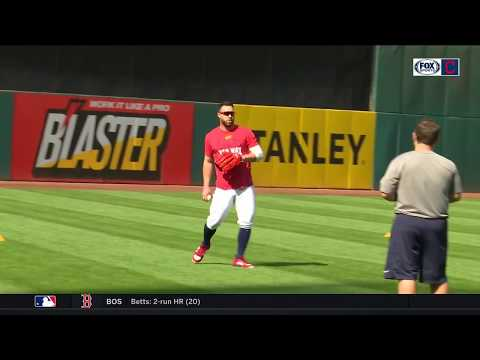 Jason Kipnis getting re-acquainted with center field for Cleveland Indians