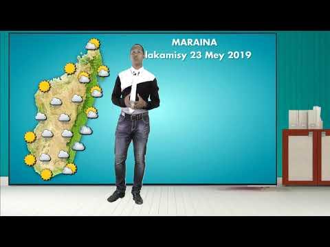 Meteo Alakamisy 23 May 2019 (VM)