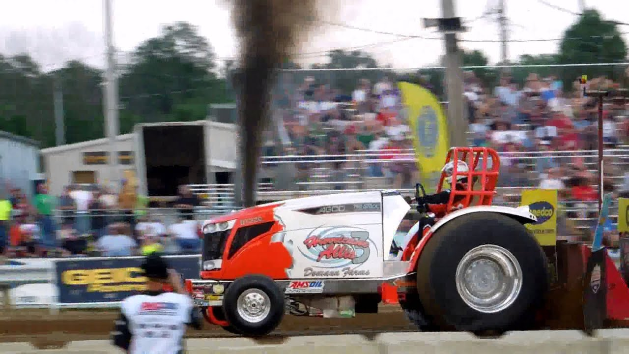 Pro Stock Pulling Tractors : Lucas oil pro pulling league some stock tractors