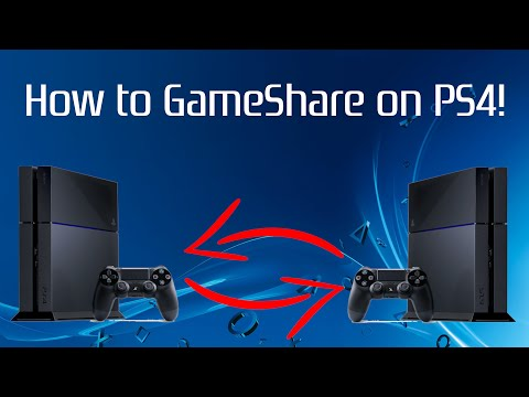 How to GameShare on PS4! (FAST) (2019)   SCG