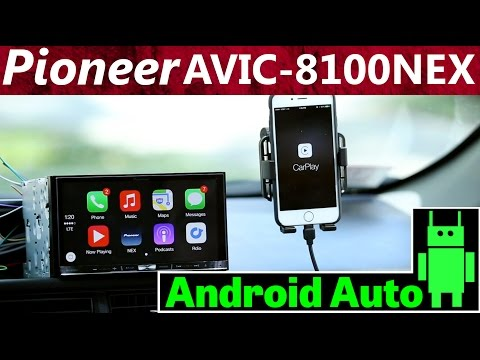 "Pioneer AVIC-8100NEX -7"" Double DIN Android Auto Overview and Review Mp3"