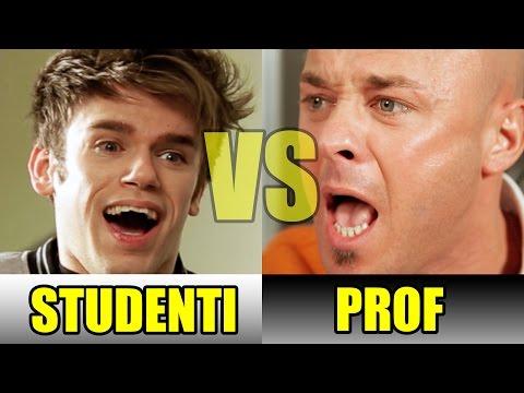 STUDENTI VS PROF - LE DIFFERENZE - iPantellas