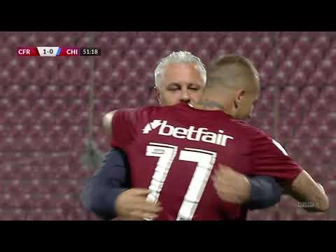 CFR Cluj Chindia Targoviste Goals And Highlights
