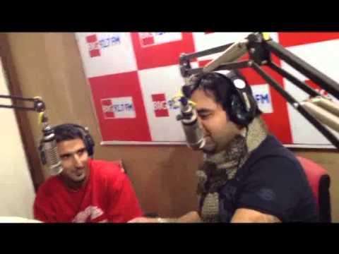 Big 92.7 Fm  Kashmir , Rj Nasir interviews Haze Kay (first rapper from Kashmir) .
