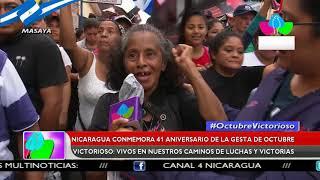 Nicaragua conmemora 41 aniversario de la gesta de
