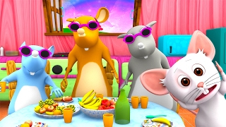 Video Three Blind Mice | Kindergarten Nursery Rhymes & Songs for Kids | Little Treehouse S03E24 download MP3, 3GP, MP4, WEBM, AVI, FLV Oktober 2017