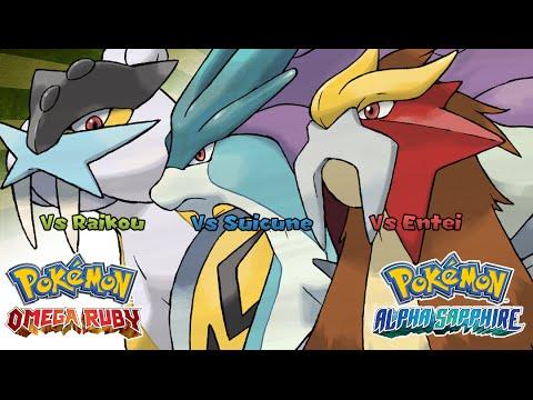 Pokemon Omega Ruby/Alpha Sapphire - Battle! Raikou/Entei/Suicune Music (HQ)