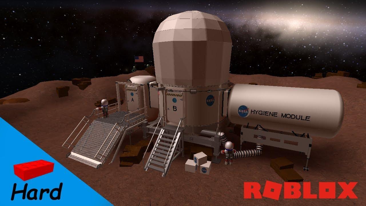 ROBLOX STUDIO SPEED BUILD / Nasa - Deep Space Habitat