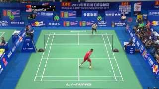 BWF World Championships 2013 - Lin Dan, Lee Chong wei, Chen Long, Rumbaka, Wang