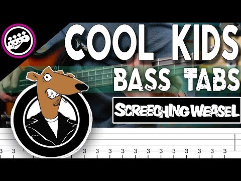 Screeching Weasel  Cool Kids  Bass  With Tabs in the