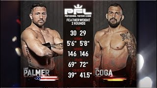 PFL Full Fight Friday: Lance Palmer vs. Max Coga from PFL Playoffs: New Orleans