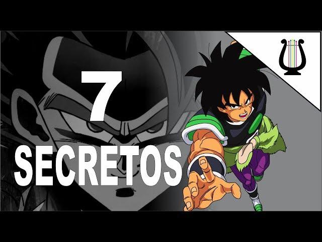 7 Secretos Revelados en Dragon Ball Super: Broly