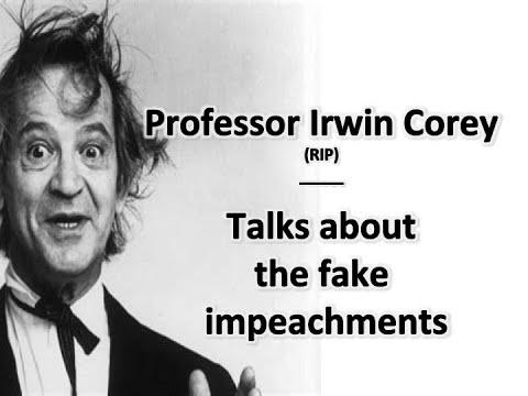 """Professor Irwin Corey"" explains faux ""Trump Im Peach Mints"". Maybe the Speaker"