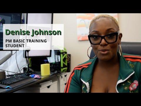 Denise Johnson - PM Basic Training Testimonial