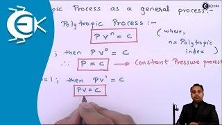 Polytropic Process as a general Process - Thermodynamics