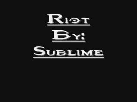 Sublime - Riot: April 26, 1992
