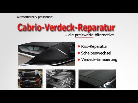 cabrio verdeck reparatur 6er bmw youtube. Black Bedroom Furniture Sets. Home Design Ideas