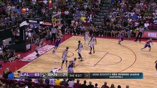 Quarter 3 One Box Video :Nets Vs. Lakers, 7/14/2017