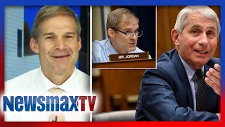 Jim Jordan reacts to his questioning of Dr. Fauci