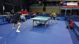 馬龍 VS 樊振東 光速對拉 -- 教科書級別的練球 太流暢了 ~^^~