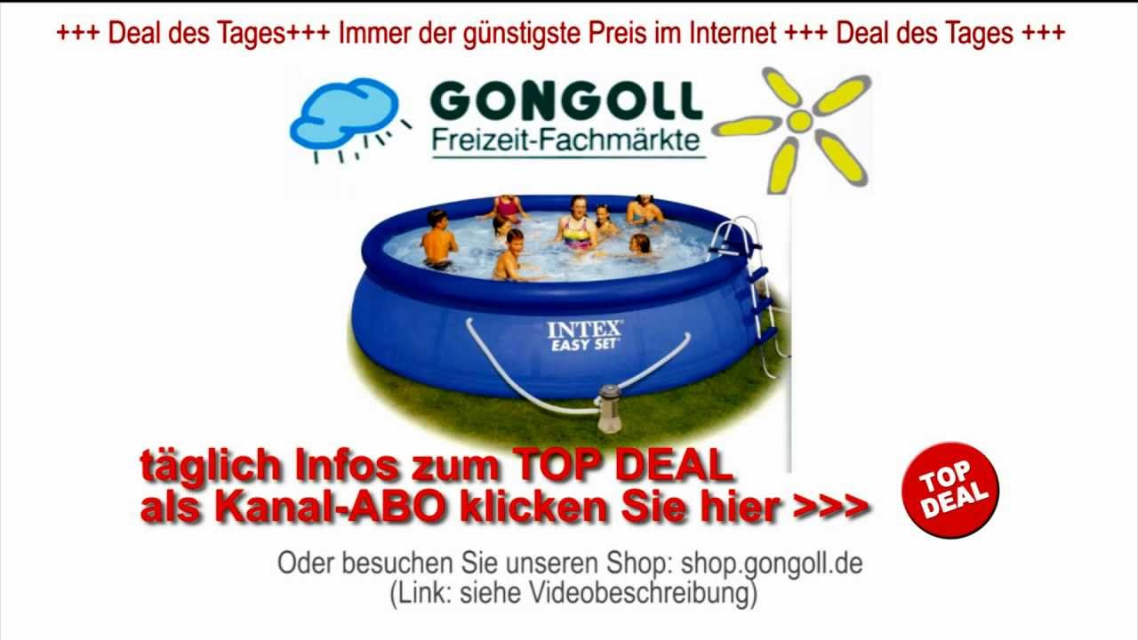Pool Reinigungsset Mit Skimmer Intex Easy Set Pool Set 457 X 122 Cm Komplettset