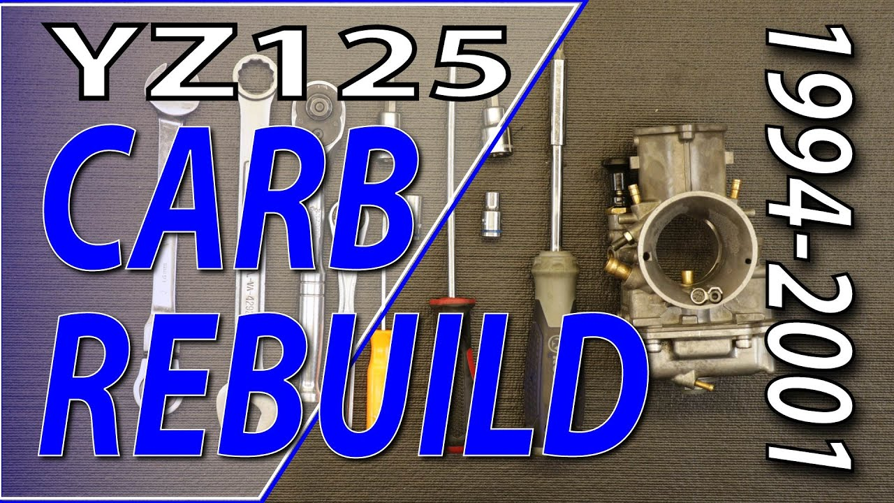 94-01 Yamaha YZ125 - Mikuni TMX Carburetor Rebuild| Fix Your Dirt Bike