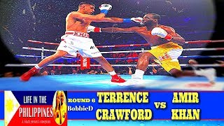 Terence Crawford Vs Amir Khan Fight Review (Round 6)