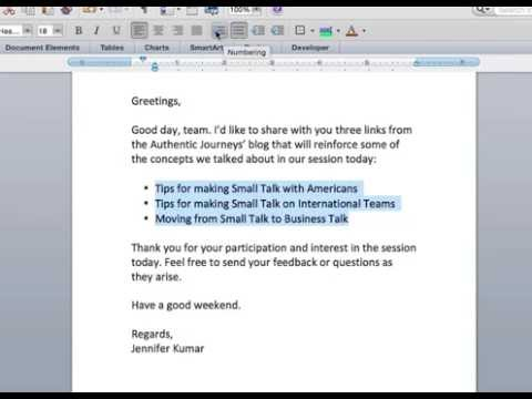 Concise email writing use of bulleted lists youtube concise email writing use of bulleted lists m4hsunfo