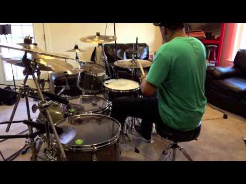 "Greg Clark jr on drums 2015  ""Latch"""
