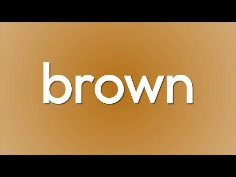 Brown Song (Lyrics)