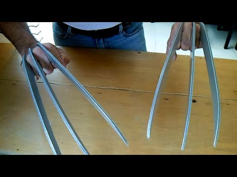 How to make Wolverine's Claws (subtitled)