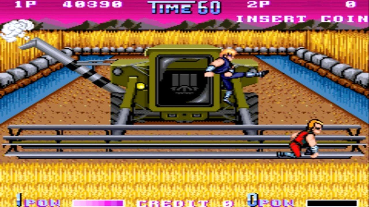Double Dragon 2 The Revenge Arcade Gameplay Playthrough Longplay