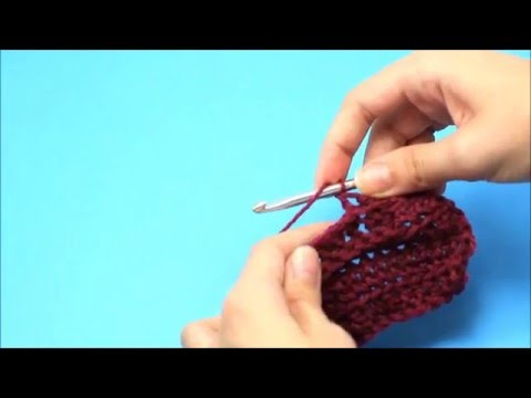 How To: Back Post Double Crochet